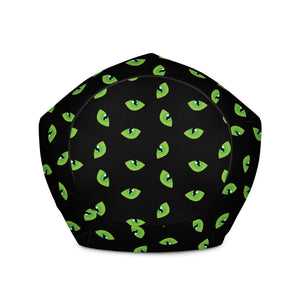 Cats Eyes - Bean Bag Chair Cover  60.00 Beanbag, home office