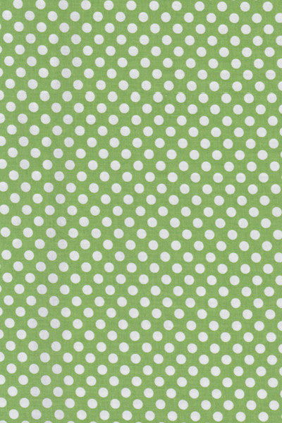 Popeline Riley blake - MD.RB.110 - Green dots
