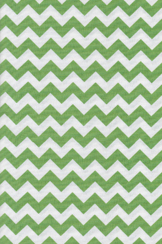 Popeline Riley blake - MD.RB.110 - Green|White chevron