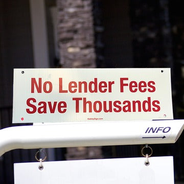 Keller Mortgage - No Lender Fees - Sign Rider x10