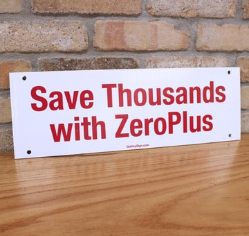 Keller Mortgage - Zero Plus - Sign Rider  x10