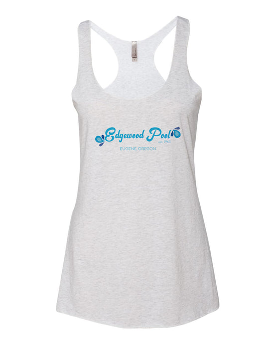 Edgwood Pool Women's Razor Back Tank