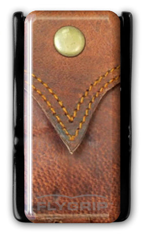 Flygrip Gravity Western Leather w/FREE CASE