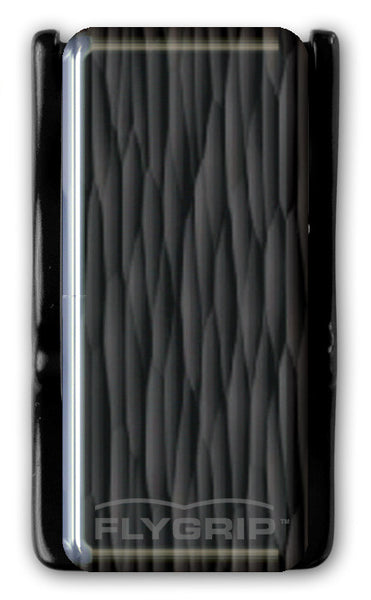 Flygrip Gravity Black Wavy Lines w/FREE CASE