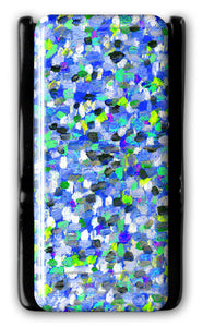 Flygrip Gravity Blue Stained Glass  w/FREE CASE