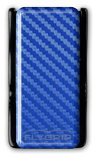 Flygrip Gravity Blue Carbon Fiber w/FREE CASE