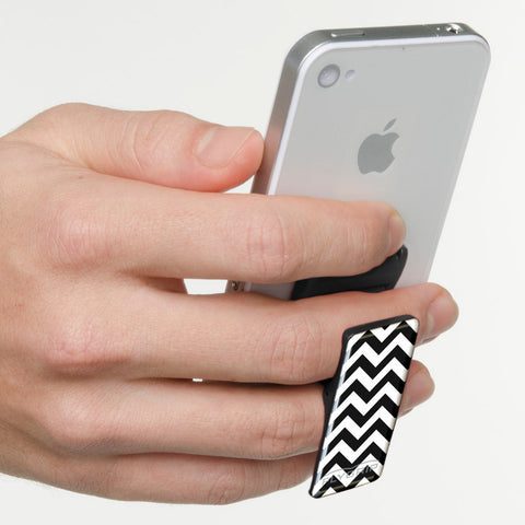 Flygrip Chevron Black and White w/FREE CASE