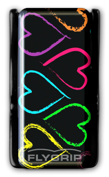Flygrip Colorful Hearts w/FREE CASE