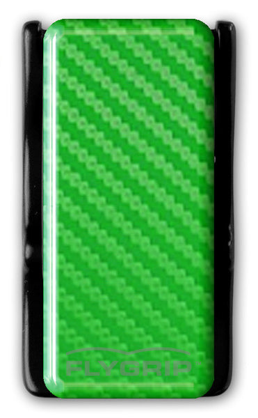 Flygrip Gravity Green Carbon Fiber w/FREE CASE
