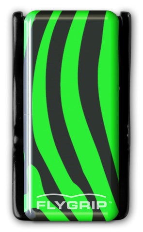 Flygrip Gravity Green Zebra w/FREE CASE