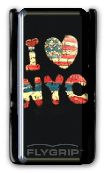 Flygrip Gravity I Love NYC w/Stitching w/FREE CASE