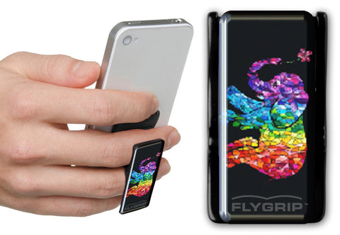 Flygrip Gravity Elephant Multicolor  w/FREE CASE