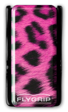 Flygrip Gravity Pink Leopard w/FREE CASE