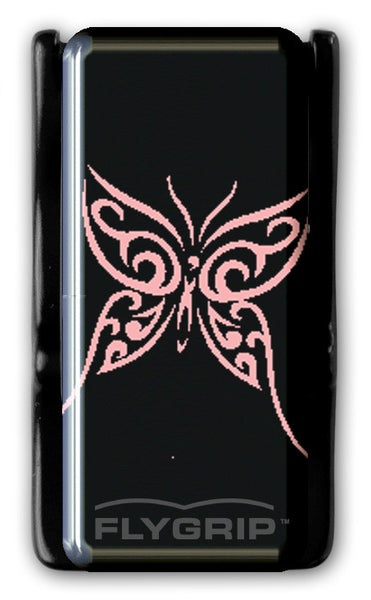 Flygrip Gravity Pink Butterfly w/FREE CASE
