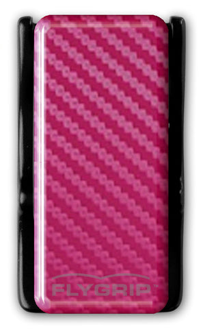 Flygrip Gravity Pink Carbon Fiber w/FREE CASE