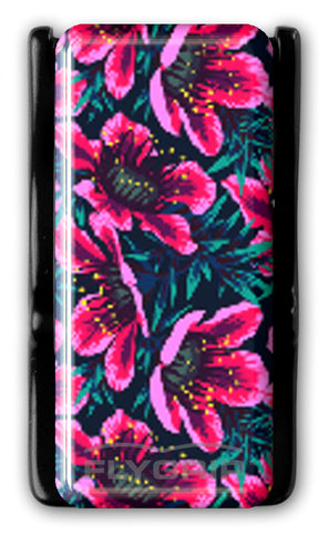 Flygrip Gravity Hot Pink Flowers w/FREE CASE
