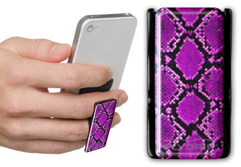Flygrip Gravity Purple Snake Skin w/FREE CASE