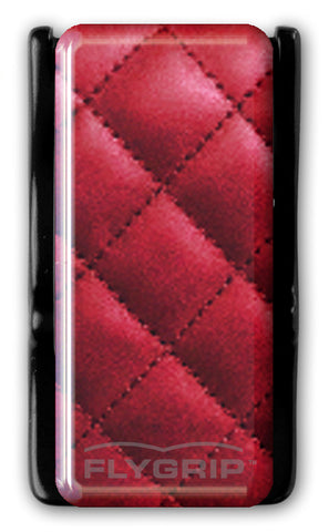 Flygrip Gravity Quilted Red  w/FREE CASE