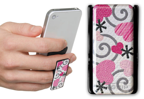 Flygrip Gravity Pink Hearts w/FREE CASE