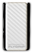 Flygrip Gravity White Carbon Fiber w/FREE CASE