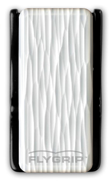 Flygrip Gravity White Wavy Lines w/FREE CASE