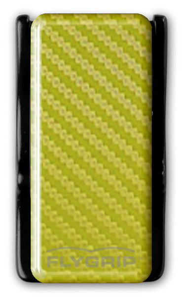 Flygrip Gravity Yellow Carbon Fiber w/FREE CASE