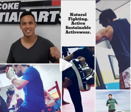 Natural Fibres Activewear for Natural Fighters