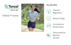 Benefits of TENCEL™ Branded Clothing for Activewear