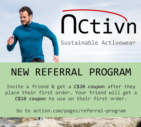 Activewear Referral program