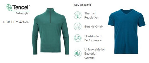 TENCEL™ Lyocell  Environmentally Responsible Athletic Wear