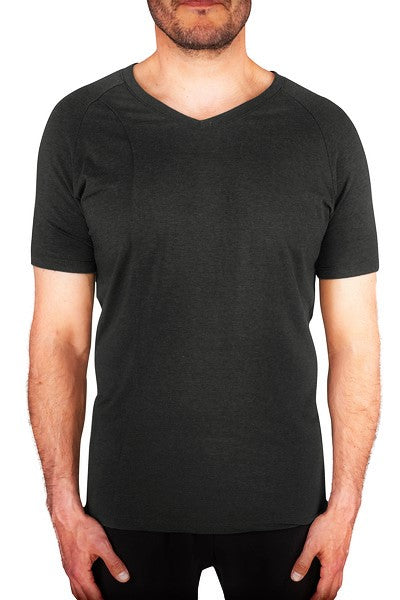 Tencel tee shirt for men Black