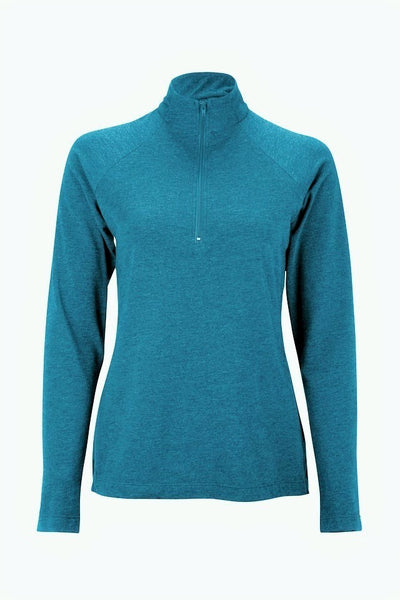 Women activewear Tencel long sleeve shirt - light blue