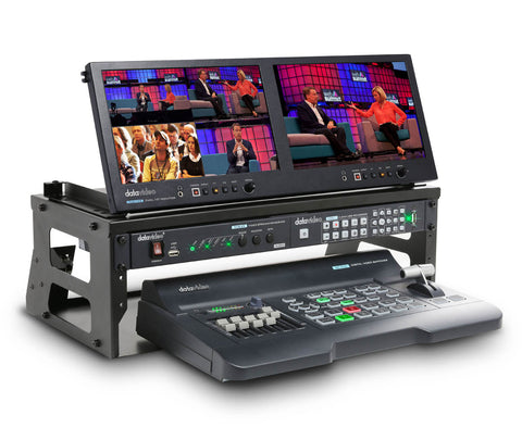 DATAVIDEO GO-500 4 Channel HD/SD Portable Video Production Studio Kit