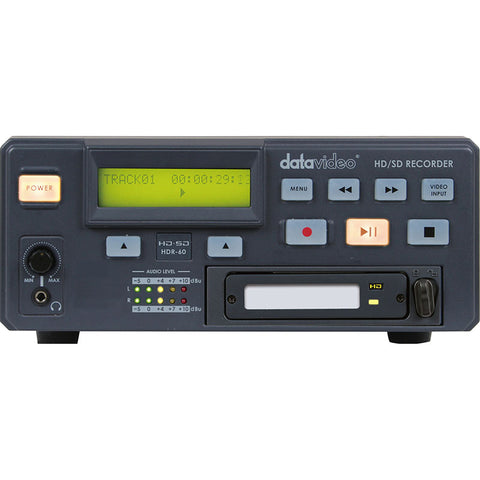 Datavideo DATA-HDR60-0TB (DATAHDR600TB) HDR-60 Desktop HD/SD-SDI Digital Video Recorder