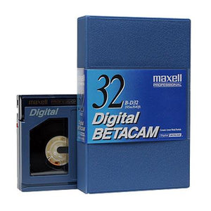 Maxell BD-32 Digital Betacam Video Tape, 32 Minute, Small