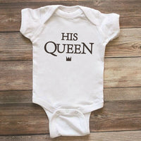 Twins Girl and Boy Bodysuit Newborn Baby Bodysuit Clothes Cotton Infant Short Sleeve Letter Jumpsuit Summer Onesie for Babies