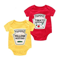 Baby Bodysuits Cotton Girls Boy Clothing Short Sleeves O-Neck Newborn body infantil Clothes Summer twins Clothes Baby Bodysuit