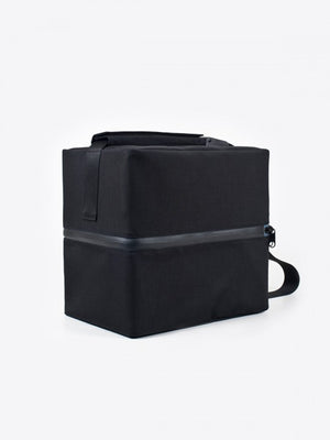 airbag craftworks chateau vinyl bag black