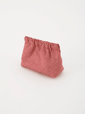 Hand-crafted pouch, Mameshibori