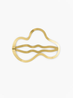 clinq greta hair-clip gold-plated
