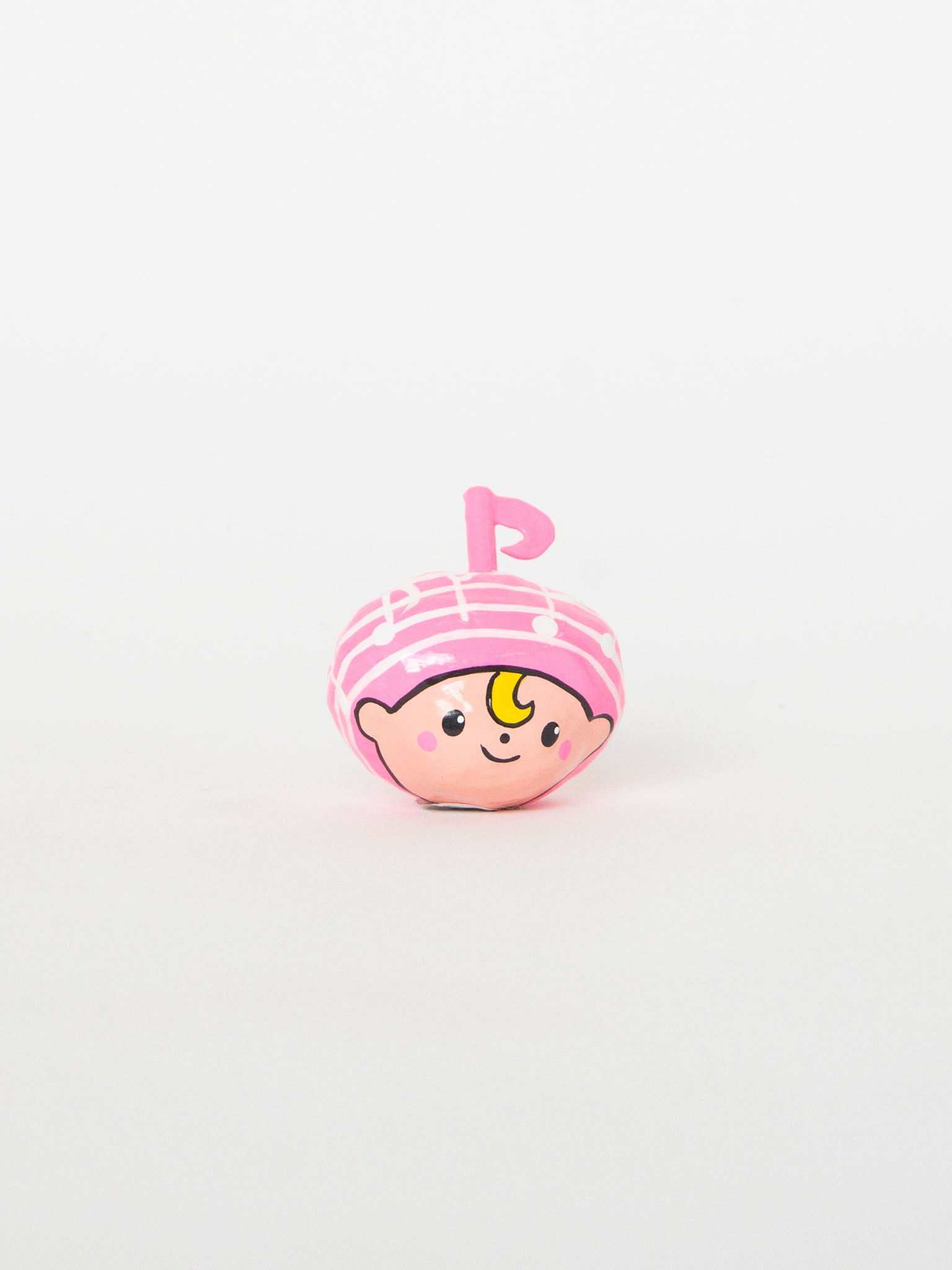 HANDCRAFTS Okiagari doll music note Pink