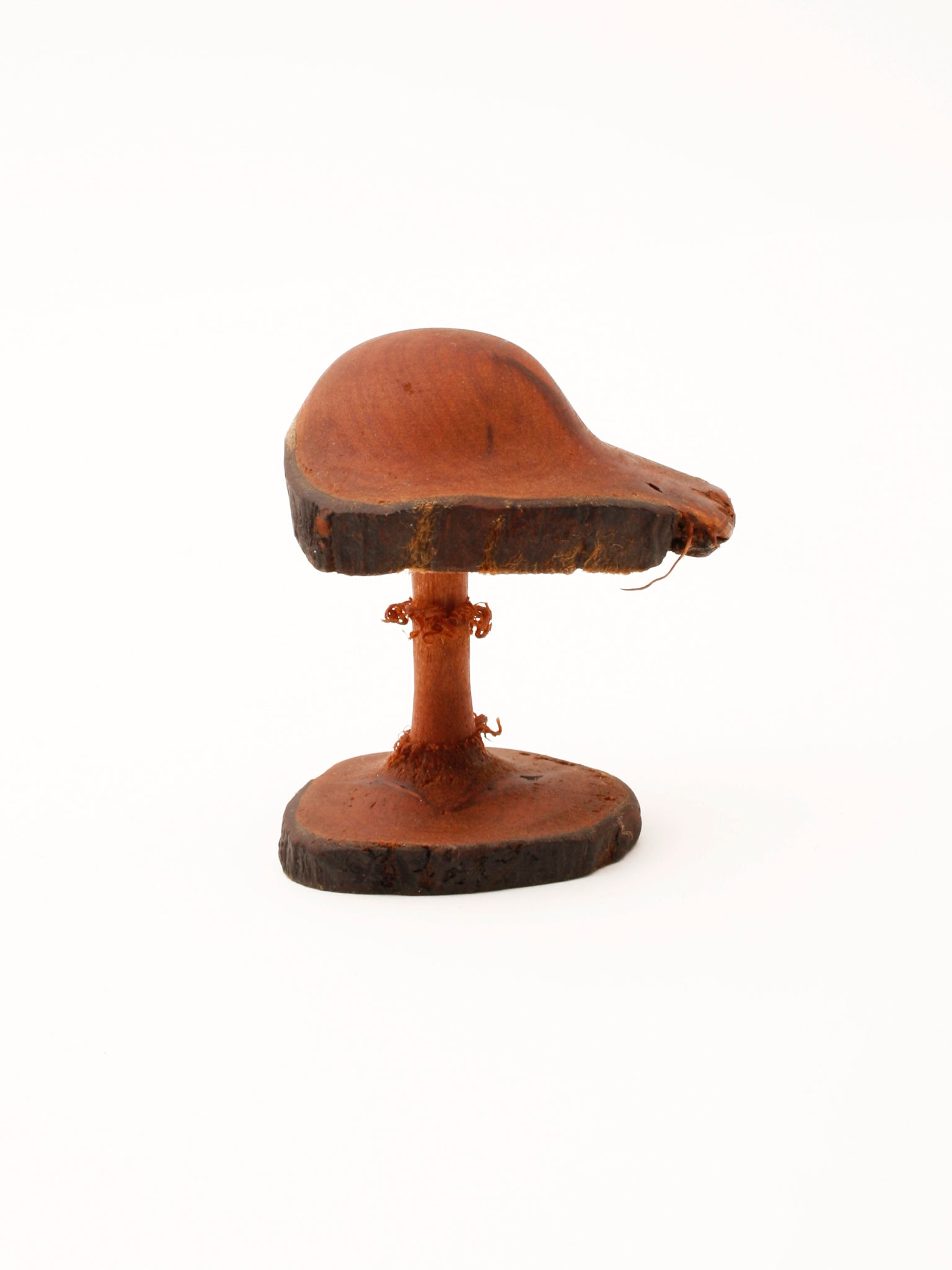 Wooden Mushroom, hand-carved, Shitake
