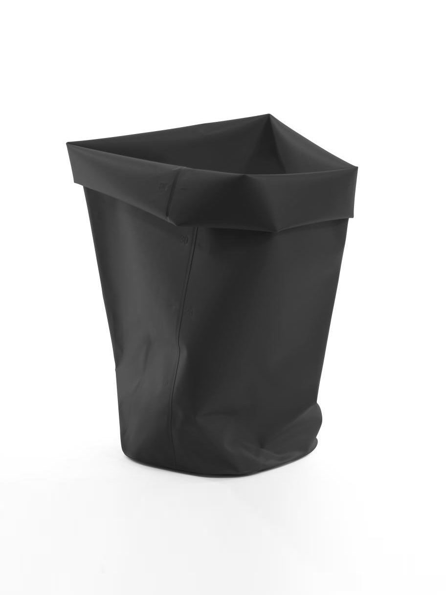 L&Z Roll-up bin black L