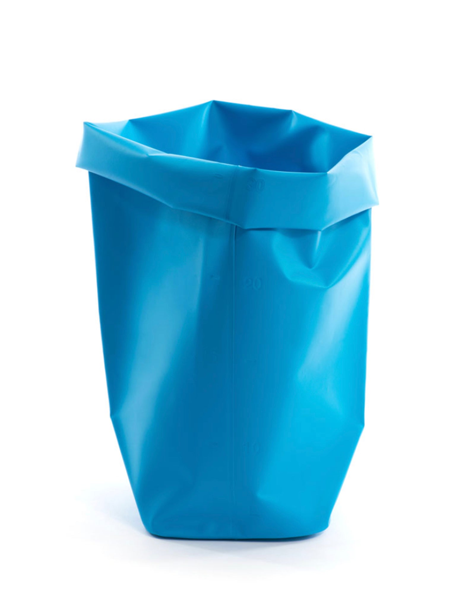 L&Z Roll-up bin blue medium
