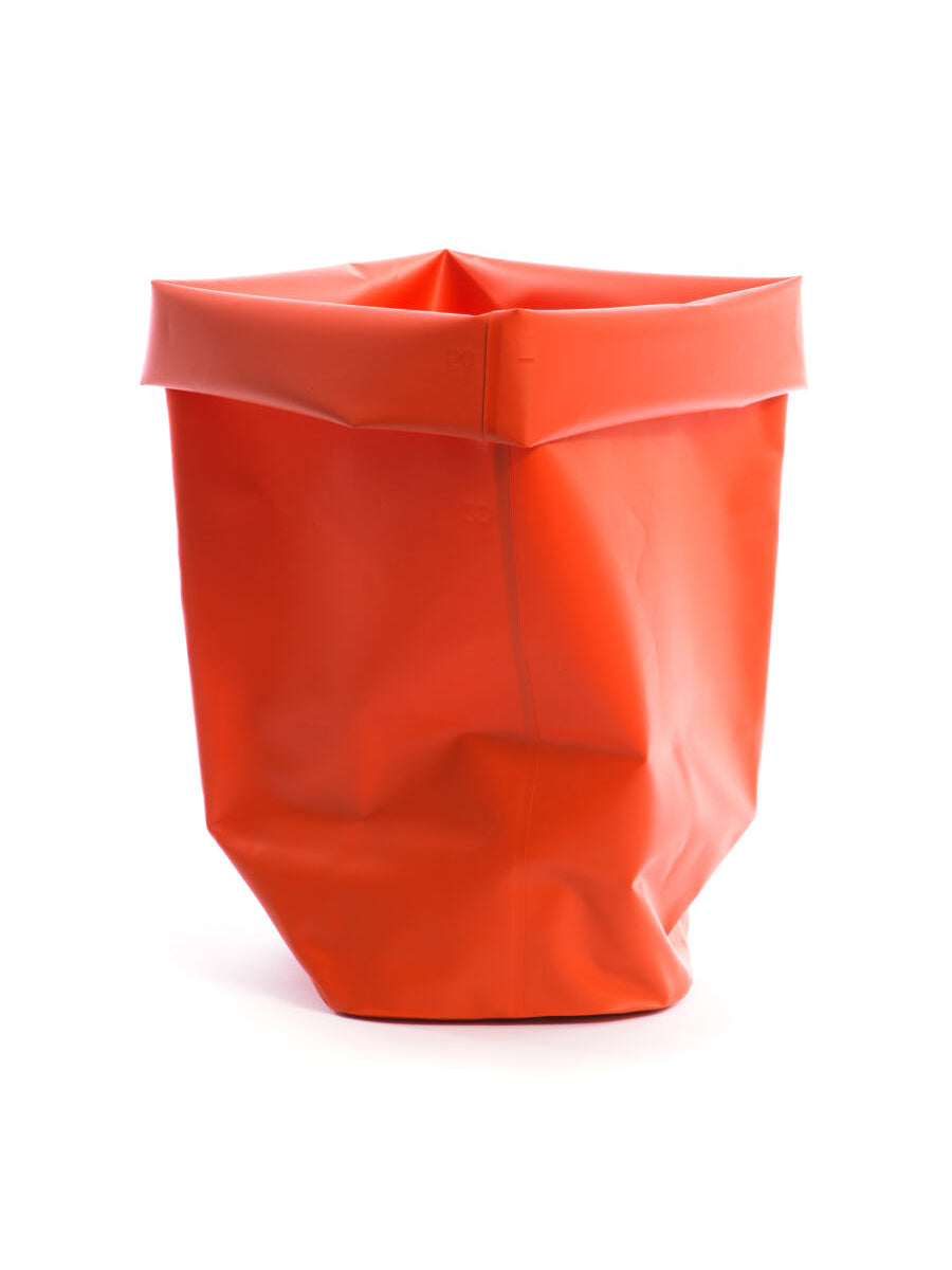 L&Z Roll-up bin red