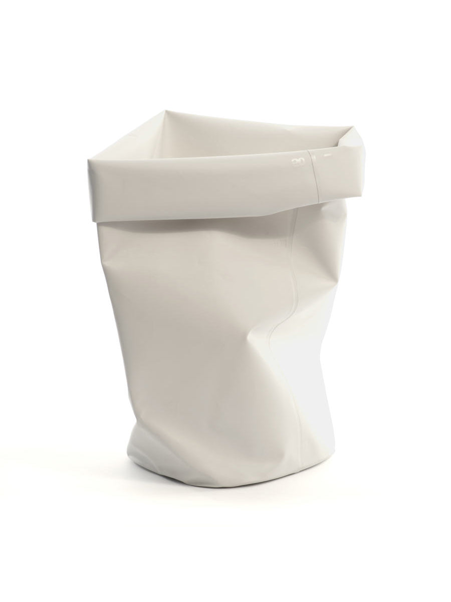 L&Z Roll-up bin white L