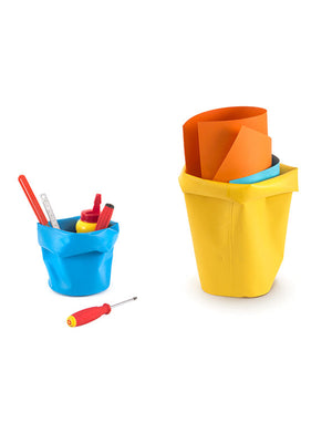 L&Z Roll-up bin yellow extra small and small