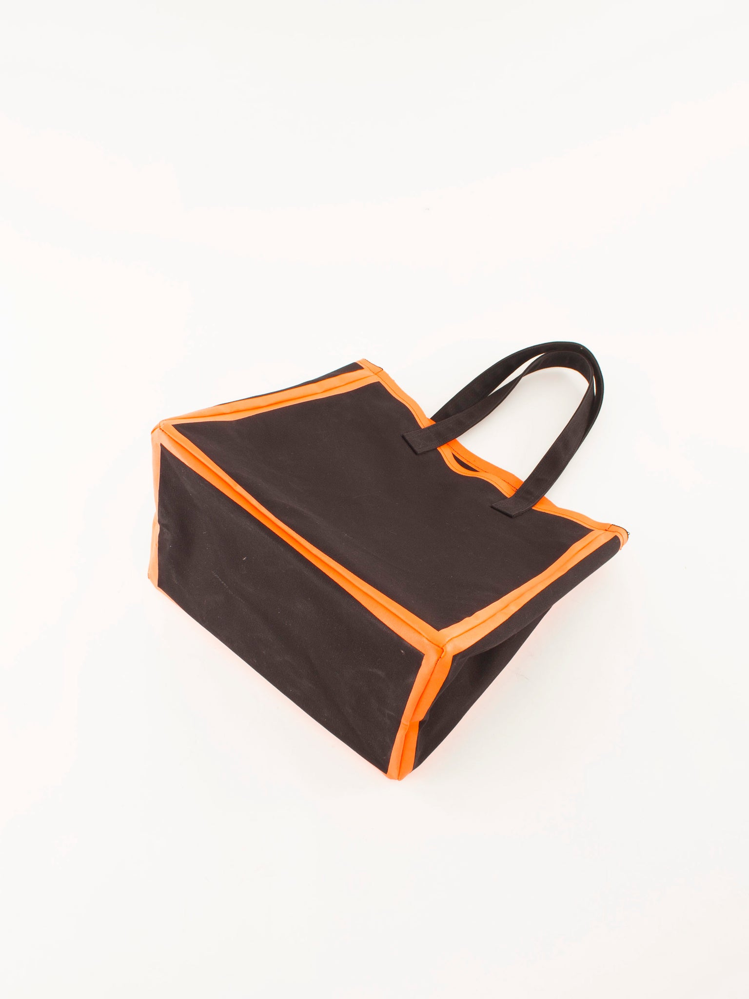Lorinza canvas tote Black orange