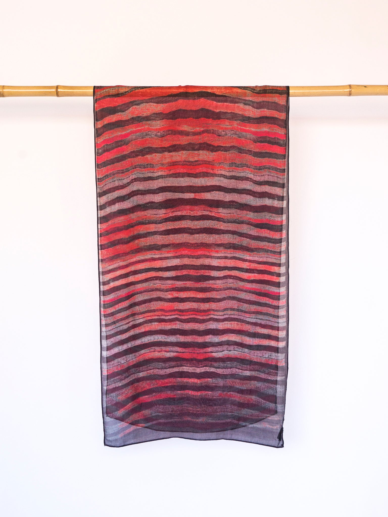 Neeru Kumar Silk Scarf waves