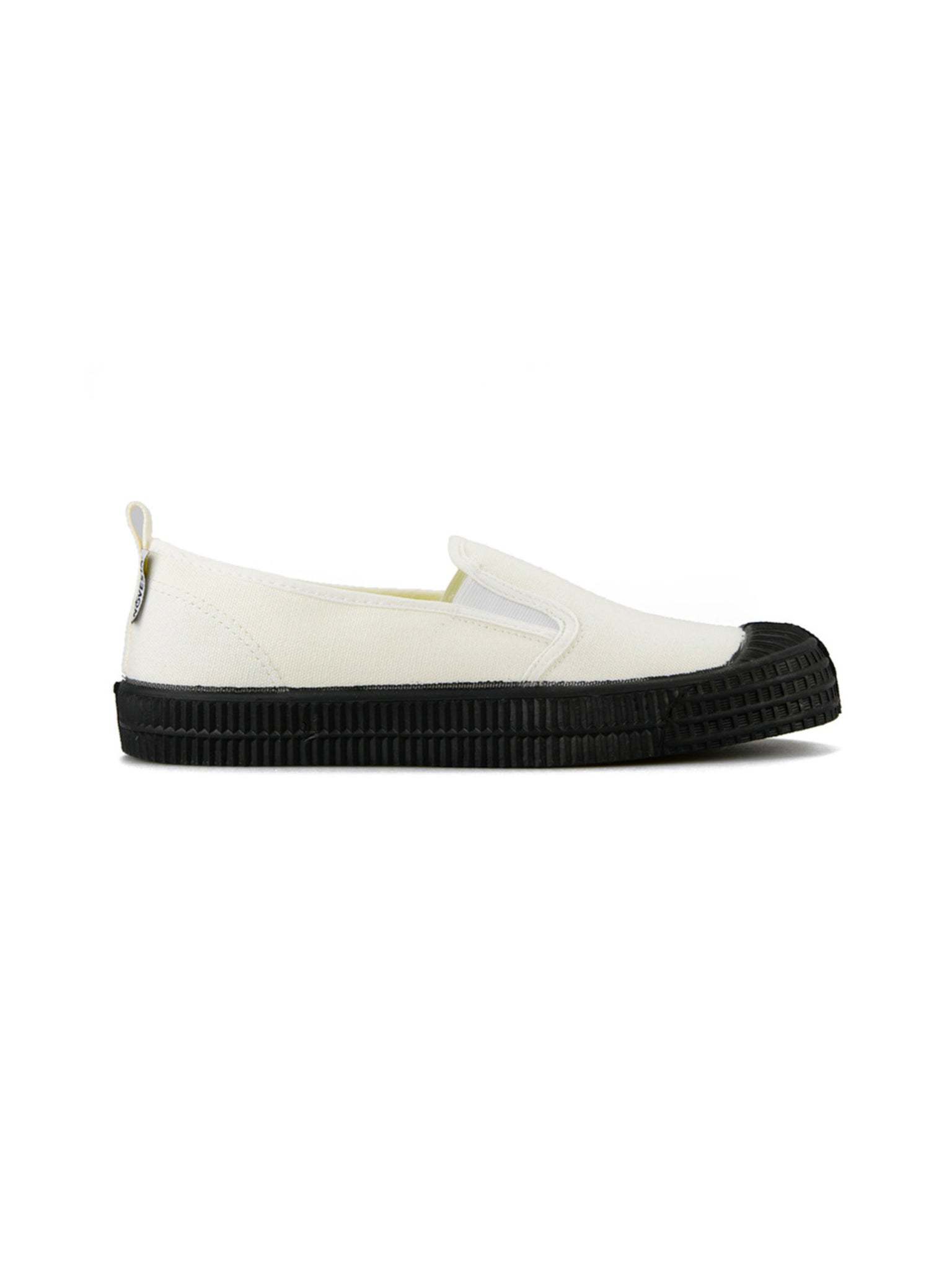 Novesta Slip-On White Black